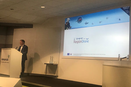 Use of UAVs in the ResponDrone project highlighted at Inmarsat UAV BVLOS event
