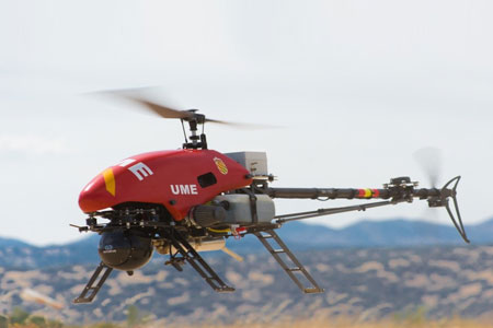 Use of rotary wing UAVs can significantly enhance the real-time relay of critical information for first responders