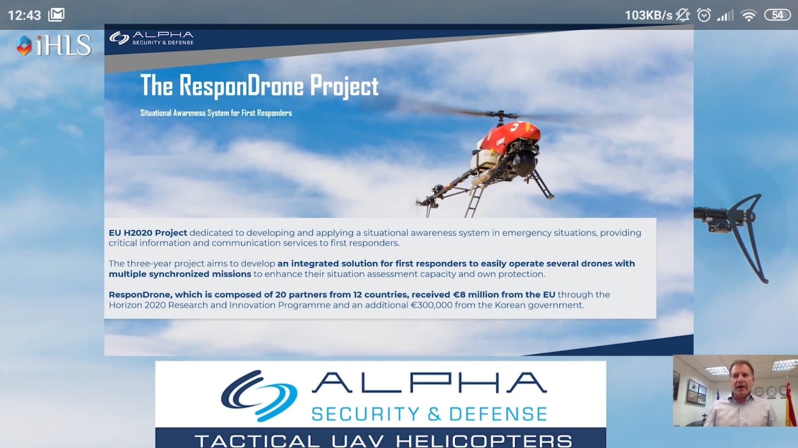 Advantages of ResponDrone system flexibility & durability highlighted at AUS&R & AUVSI 2020 BROADCAST