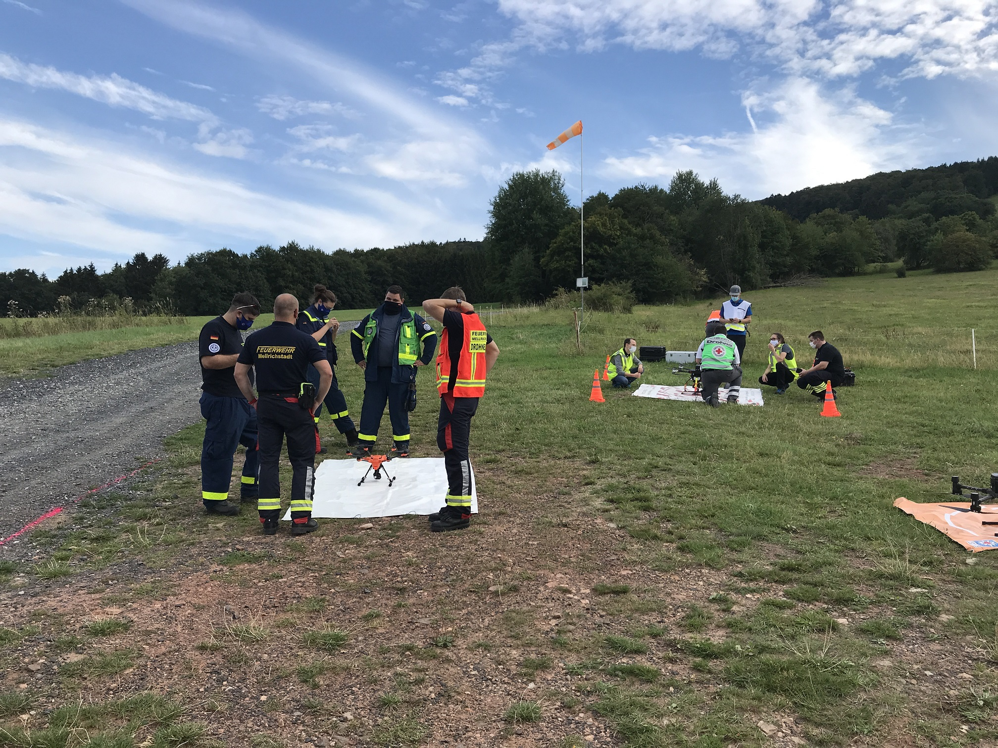 ResponDrone partners continue to forge ahead with attending first responder training and exercises