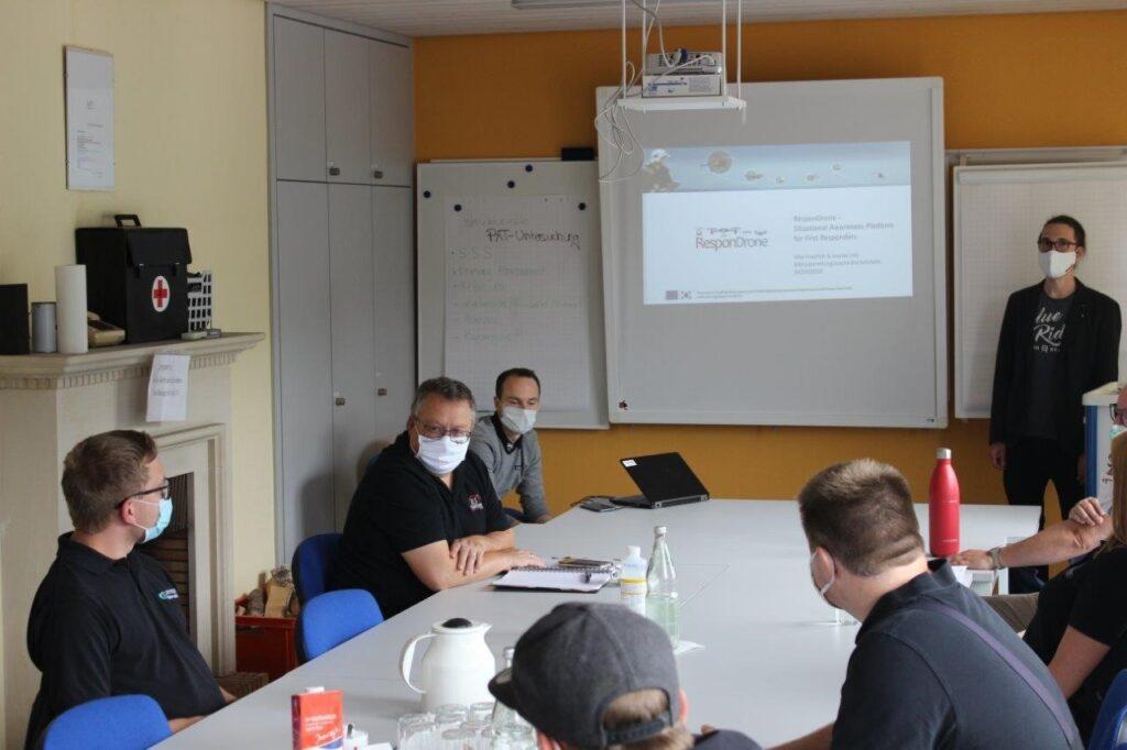 ResponDrone presentation at BRK seminar